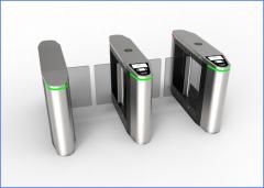 <b>公司新品介绍―豪华款智能防撞摆闸验票机(QMPB)</b>